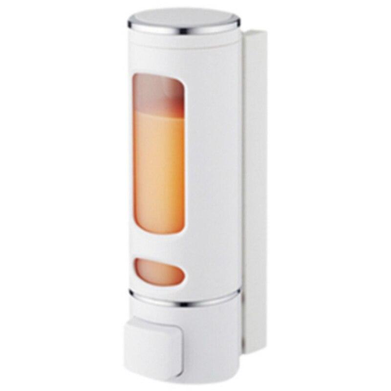 400ML Soap Dispenser Transparent Liquid Soap Dispenser Plastic Soap Dispenser And Bottle For Kitchen Bathroom