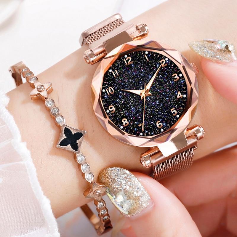 Women's Starry-Sky Wrist Watches