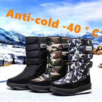 39-47 men winter boots Comfortable Non-Slip 2019 warm winter men shoes #NXC102