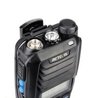 """ווקי טוקי Retevis RT56 פיצוץ ווקי טוקי Portable IP65 רדיו דו-כיווני Waterproof 3.5W VHF UHF 136-174 & 400-480MHz מקמ""""ש (5)"""
