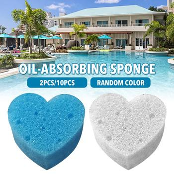 10pcs Swimming Pool Filter Sponge Oil Suction Oil Absorbing Sponge Grime Scum Cleaning Tools For Swimming Pools Hot Tubs Spas 10 image