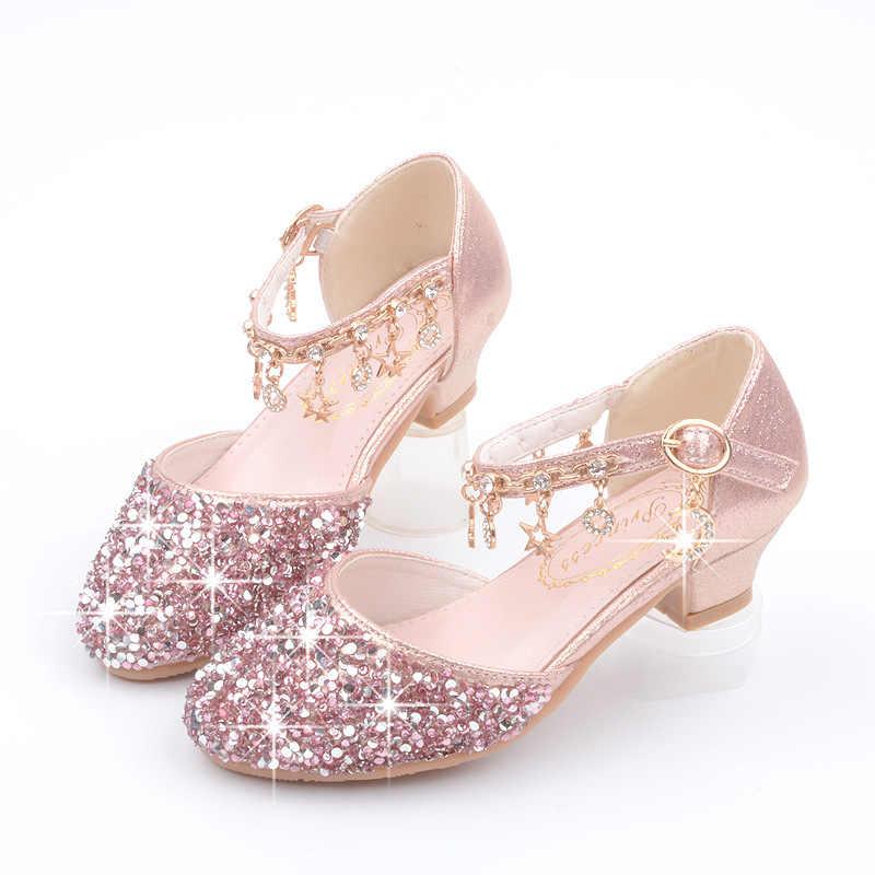 Dance Glitter Little Girls Heels