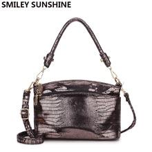 SMILEY SUNSHINE Luxury Handbags Women Bags Designer Crossbody Messenger Bags Ladies Top handle Bags bolsos mujer