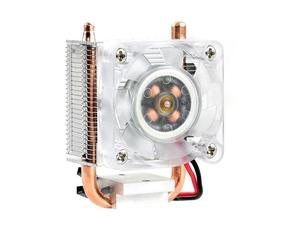 Image 2 - Torre de gelo waveshare, ventilador de refrigeração para raspberry pi, dissipação de calor super, suporte tanto raspberry pi 4 & 3
