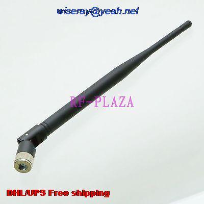 DHL/EMS 100 Pcs 433MHZ Antenna 433MHZ GPRS GSM SMA Male Plug Straight Tilt-Swivel For Radio 20CM-A1