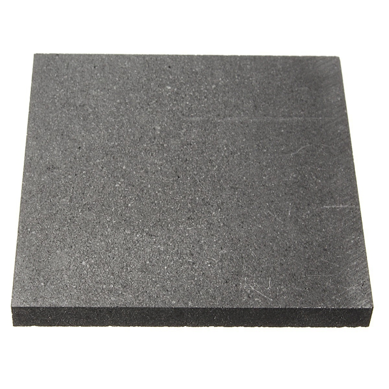 100*100*10mm 99.9%Pure Graphite Block Electrode Rectangle Plate