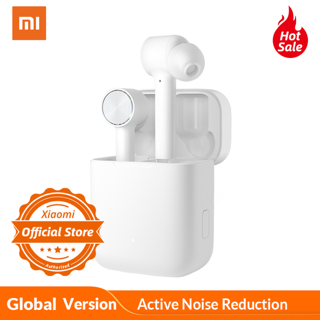 הגלובלי גרסת Xiaomi Bluetooth אוזניות אוויר ANC ENC פעיל רעש הפחתת TWS מגע שליטה אלחוטי אוזניות AAC HD קול