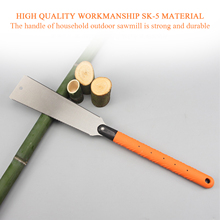 Double-sided Hand Saw Woodworking Saw Logging Saw Fast Hand Saw Fine Tooth Garden Saw For Tenon Wood Bamboo