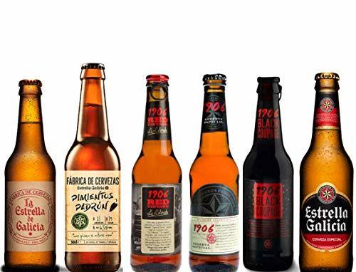 Pack Coleccion Estrella Galicia - Estrella Galicia Fabrica De Cervezas, Estrella Galicia Pimientos De Padron, Estrella Galicia