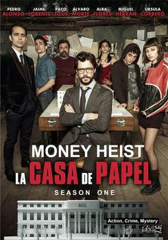 More Style Choose La Casa De Papel Money Heist Film Print Silk Poster for Your Home Wall Decor 24x36inch image