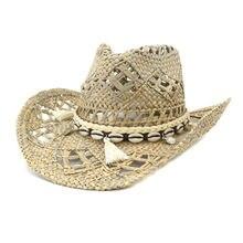 Шляпа от солнца для мужчин и женщин роскошная соломенная уличная