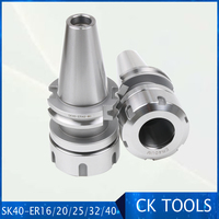 high precision SK40 ER32 ER40 Tool Holder din69871 CNC machine Drill Chuck Toolholder Milling cutter collet chuck|Tool Holder| |  -