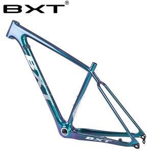 Image 4 - BXT marka wzmocnienie karbon mtb rama 29er mtb rama karbonowa 29 węglowa rama roweru górskiego 142*12 lub 148*12mm ramy rowerowe