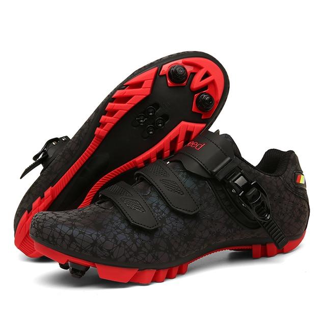 2020 mtb ciclismo sapatos tênis men mountain bike sapatos de estrada luminosa profissional ultraleve ciclismo tênis 1