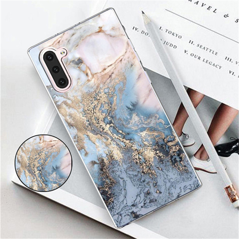 luxury marble holder case on for <font><b>Samsung</b></font> Galaxy note 10 9 <font><b>j6</b></font> pro <font><b>plus</b></font> <font><b>2018</b></font> stand holder soft tpu back cover funda capa <font><b>coque</b></font> image