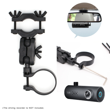 DVR Bracket Car Rearview Mirror Driving Recorder Holder for Xiaomi 70mai Car DVR Camera Replace Support Stand image