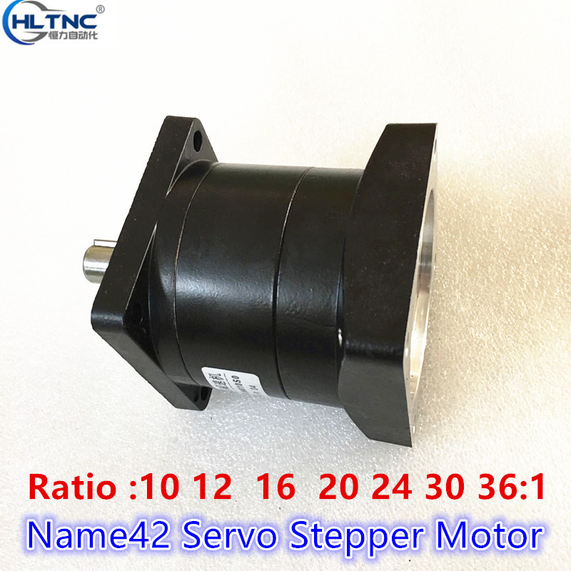 <font><b>10</b></font> 12 16 <font><b>20</b></font> 24 30 36:1 Ratio Planetary Reducer Stepper Speed Reducer for Nema 42 Stepper <font><b>Motor</b></font> DIY CNC Mill Lathe Router image