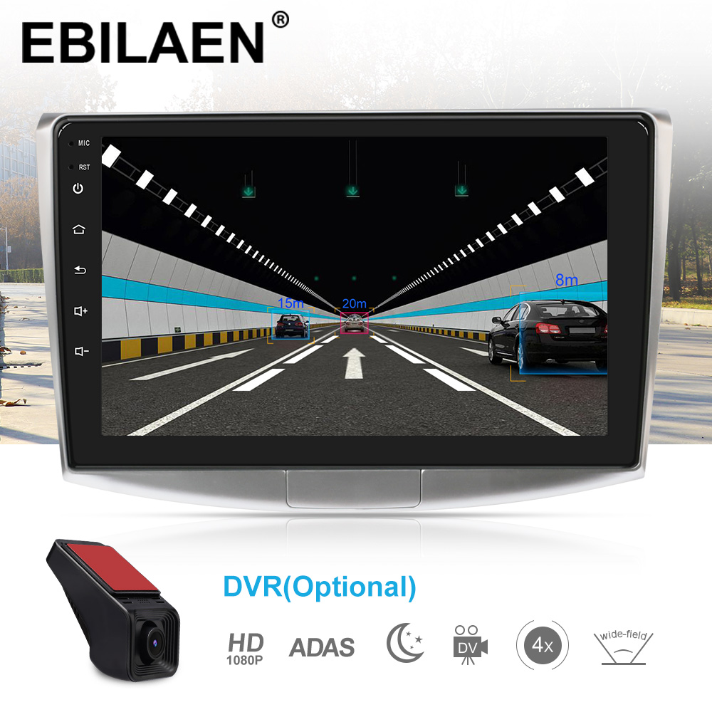 EBILAEN Car Radio Multimedia Player For VW Volkswagen Passat B7 B6/Magotan 2Din Android 9.0 Autoradio GPS Navigation DVR Camera - 5