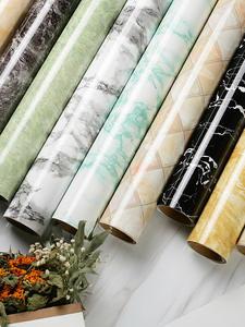 Waterproof Marble Furniture Contact-Paper Desktop Self-Adhesive Home-Decor Living-Room