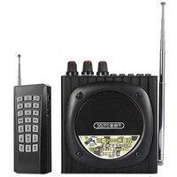 Q93 amplificador de voz portátil de megafono Bluetooth inalámbrico 2200mAh altavoz de alta potencia de reproducción altavoz de música al aire libre altavoz|Megáfono| |  -