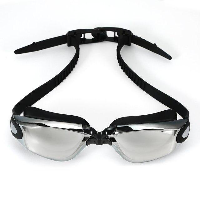 Купить унисекс антизапотевающие очки для плавания защита от уф лучей картинки цена