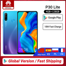 In stock Global Version Huawei P30 Lite 4GB 128GB Smartphone 6.15 inch Kirin 710