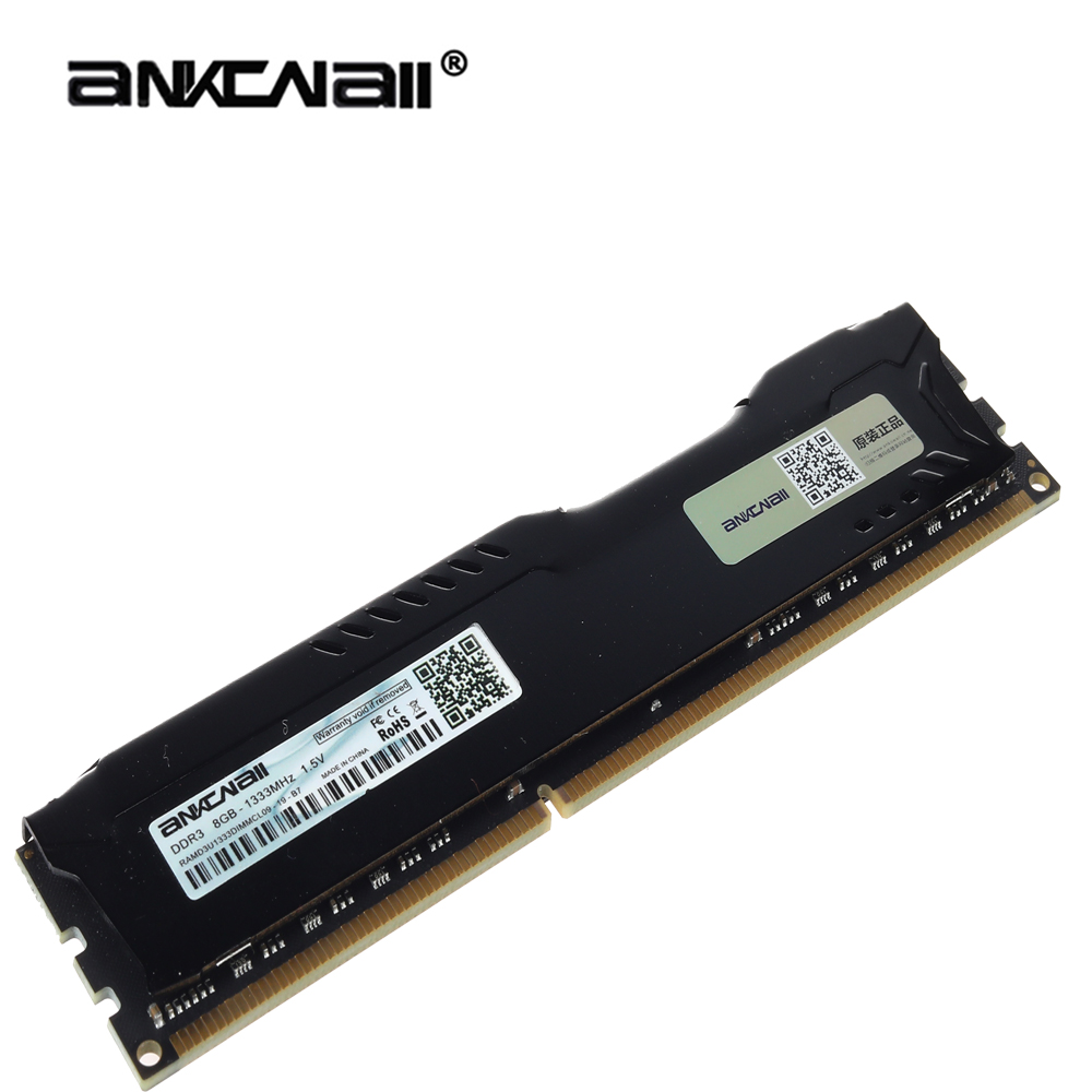 ANKOWALL DDR3 Desktop RAM with 2GB/4GB Capacity and 1866MHz/1600Mhz Memory Speed 1