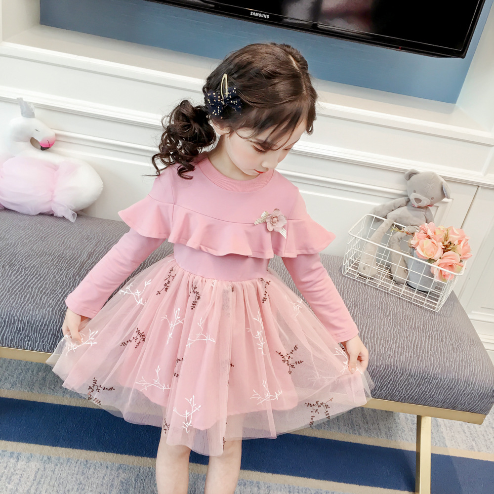Mayfair Cabin Girls Pentagram Princess Dress Brand Clothing European and American Style Clothes Children