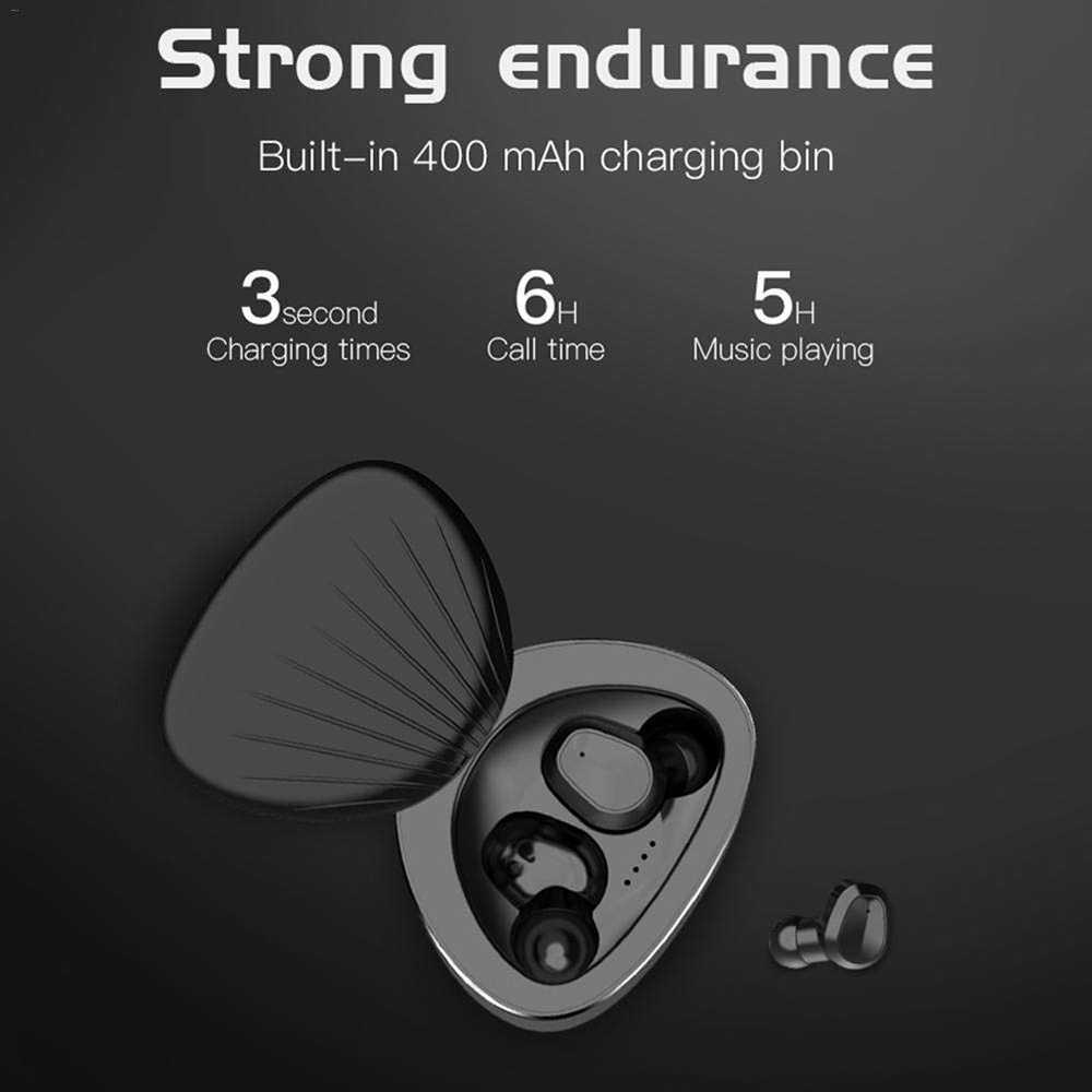 ANRY H3 Bluetooth イヤーピース真のワイヤレスイヤフォンコードレスイヤホン充電でケース BT5.0 iphone