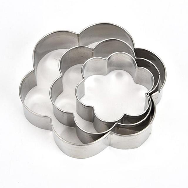 12Pcs Cupcake formen Edelstahl Keks Formen Schokolade fondant Cookies Pudding für Silber Kuchen formen backformen Sets