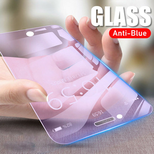 1Pc 0.26mm New 9D Anti-Blue Light Screen Protector Tempered Glass Screen Protector Film For iPhone6s/6plus /7/X/XS/XR/XS Max/11