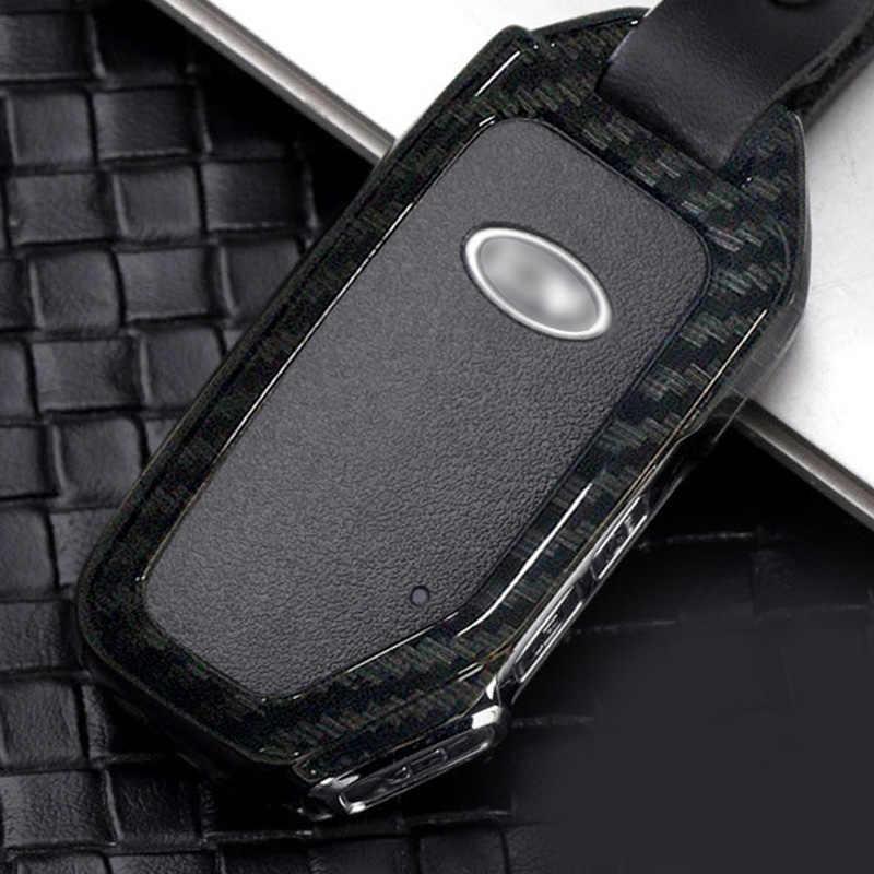 Funda protectora para llave de coche llavero anillo para Kia Picanto Forte K2/K3/K4/K5 elegante generoso