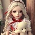 60 センチメートル bjd 人形ギフト女の子服サポート変更目 DIY 人形最高のバレンタインデーのギフト手作り美容おもちゃ