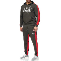 New Tracksuit Men Fashion Long Sleeve Hoodies+Pants Set Male Tracksuit Sports Suit Men's Gyms Set Casual Sportswear Suit 2019