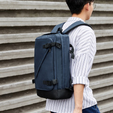 Business backpack men's backpack Korean style student bag computer backpack travel bag