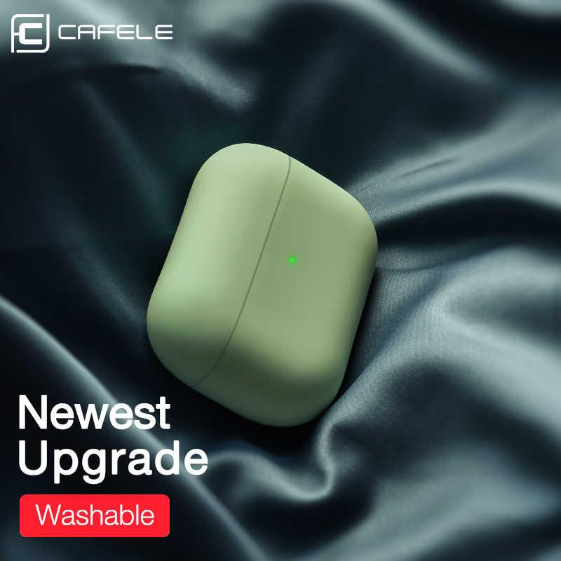Cafele シリコンケース保護カバーのための AirPods プロ 3 TWS blutooth のイヤホンソフト用ポッドプロ 3 保護ケース