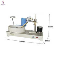 Stainless Steel Lapidary Machine Precision 0-1800Rpm Gemstone Faceting Polishing Machine 120W Jade Processing Equipment