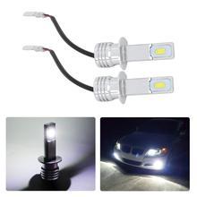 Car-Headlight-Bulbs H1 6000k-Light Super-Bright 2PCS 80W 3570 2SMD Hot-Sale DC12-24V