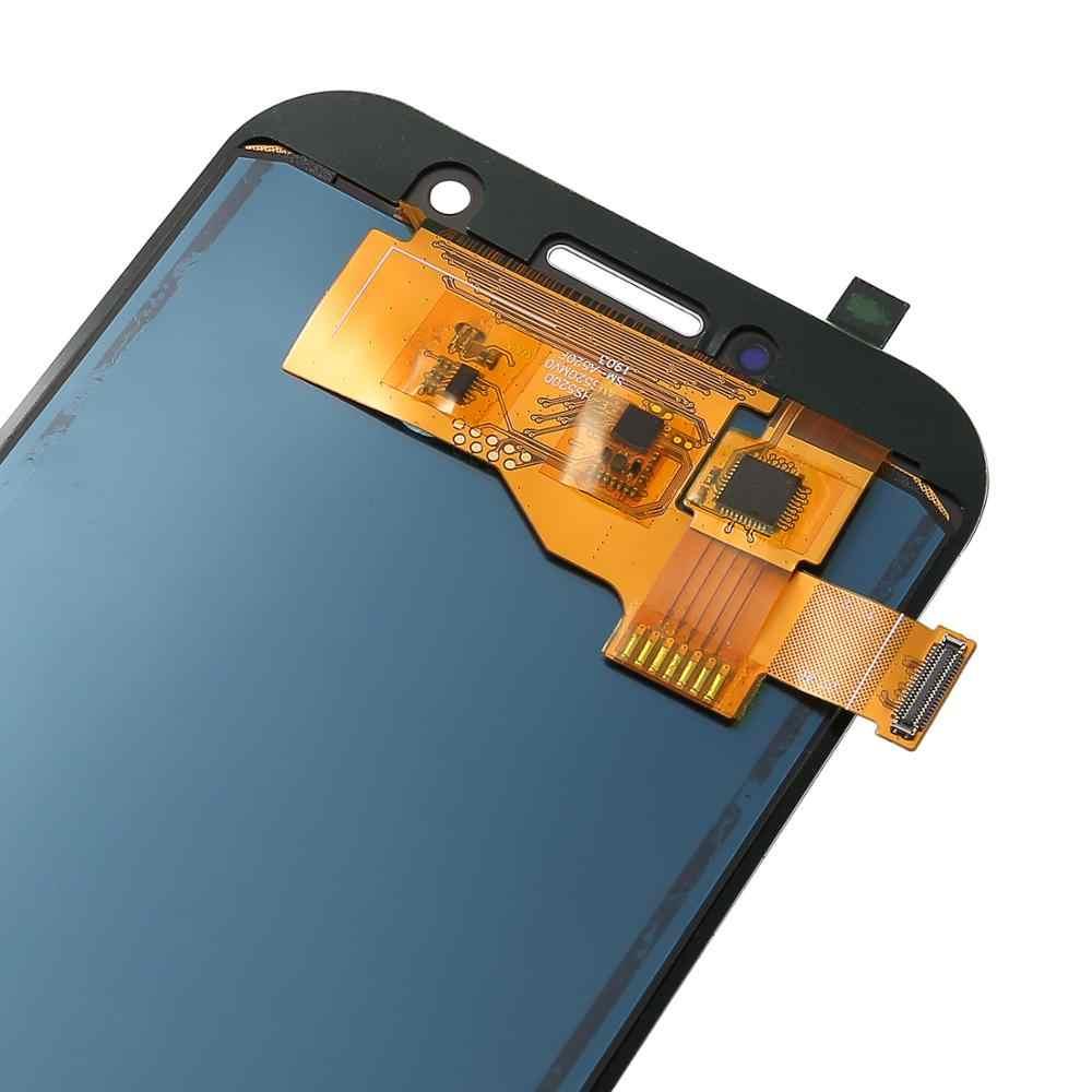 """5.2 """"شاشة LCD لسامسونج غالاكسي A5 2017 LCD A520 SM-A520F شاشات الكريستال السائل عالية الجودة عرض مع شاشة تعمل باللمس محول الأرقام الجمعية"""