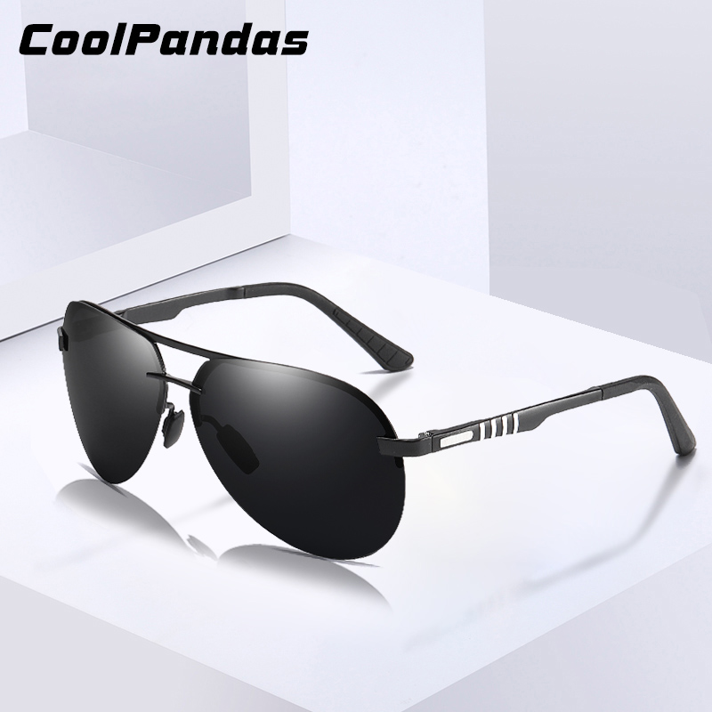2020 Classic Polarized Sunglasses Men Pilot Driving Alloy Frame Anti-Glare Fishing Sun Glasses Male Goggle UV400 Gafas De Sol