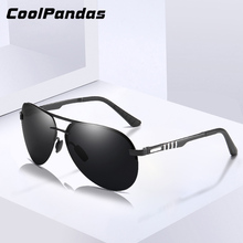 2020 Classic Polarized Sunglasses Men Pilot Driving Alloy Fr