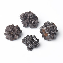 Natural Carbonado, Coarse Stone Cluster, Crystal Mineral Healing Specimen, Gem Collection Stone Home Decoration