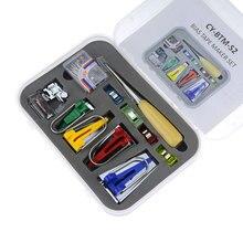 Utensilios de máquina de coser establece utensilio para bordado de retales DIY vinculante coser multifunción coser sesgo fabricante de cinta conjunto