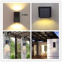 Kenlux led wall lights 3W 6W outdoor led light waterproof Building Exterior Gate Balcony Garden Yard light Aluminum Porch Lamp