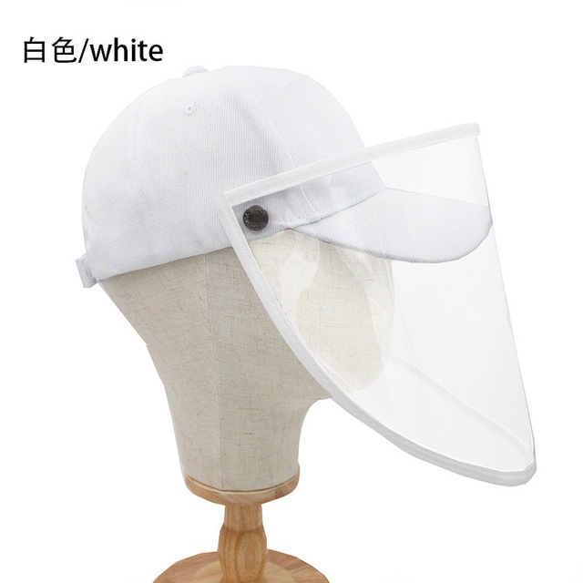 new Anti-fog Face Shield Protective Mask PET Visor Full Face Prevent Saliva Splash Isolation Mask Kitchen Eye Protection Tools 3