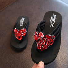 Girls Shoes Sandals Flip-Flops Princess-Slippers Parent-Child Female Fashion Outer-Wear