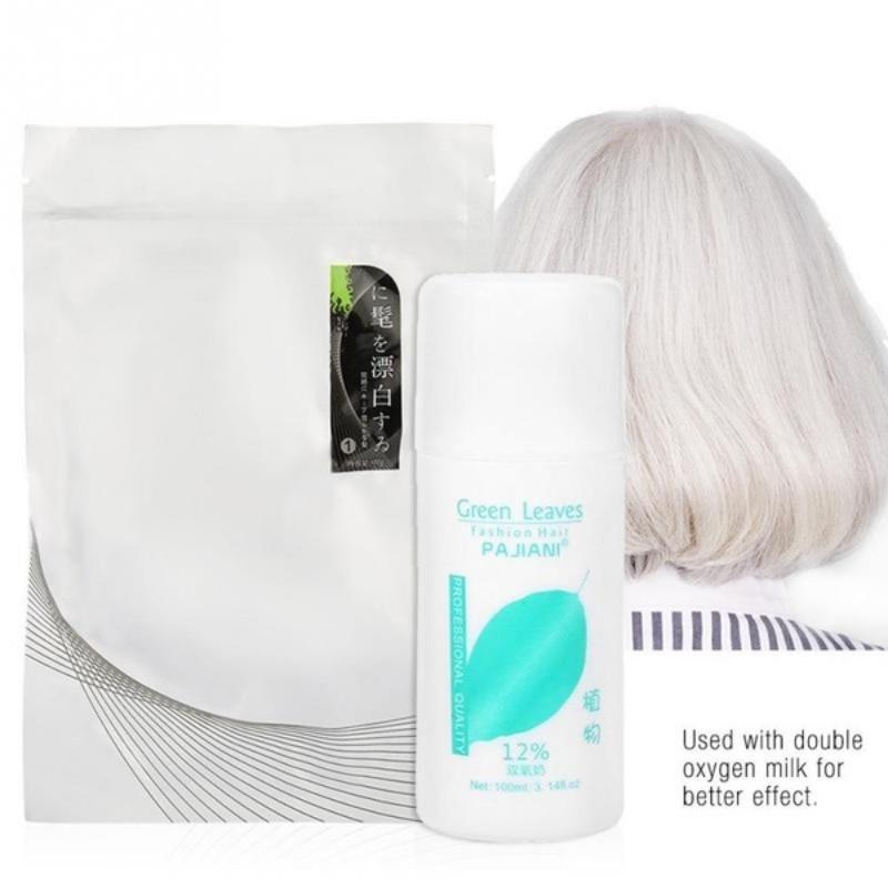 Hair Whitening Cream Lightening Bleaching Hairdressing Powder Salon Dye Color Styling Tools