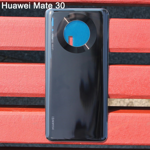 Image 4 - Huaweiฝาหลังแบตเตอรี่เดิมสำหรับHUAWEI Mate 30 Pro 5G Mate30 ด้านหลังฝาครอบด้านหลังป้องกันโทรศัพท์กรณี