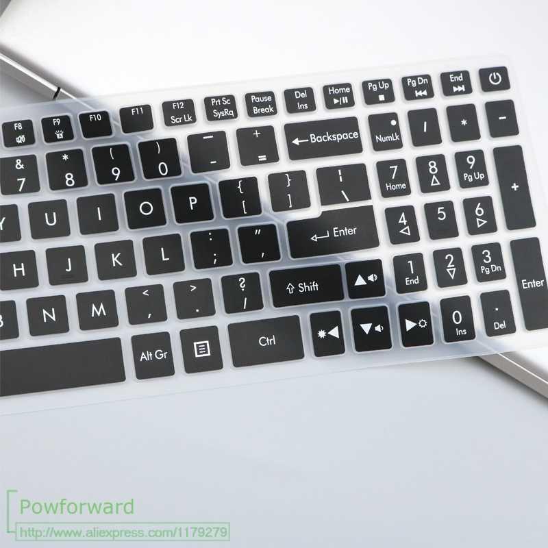 15.6 polegada teclado do portátil capa protetor de pele para acer predator helios 300 series G3-573 triton 700 nitro 5 ph317 vx5 vx15