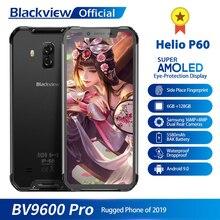 Blackview BV9600 Pro Helio P60 IP68 Wasserdichte Handy 6GB + 128GB Android 9 Außen Robuste Smartphone 19:9 AMOLED Handy